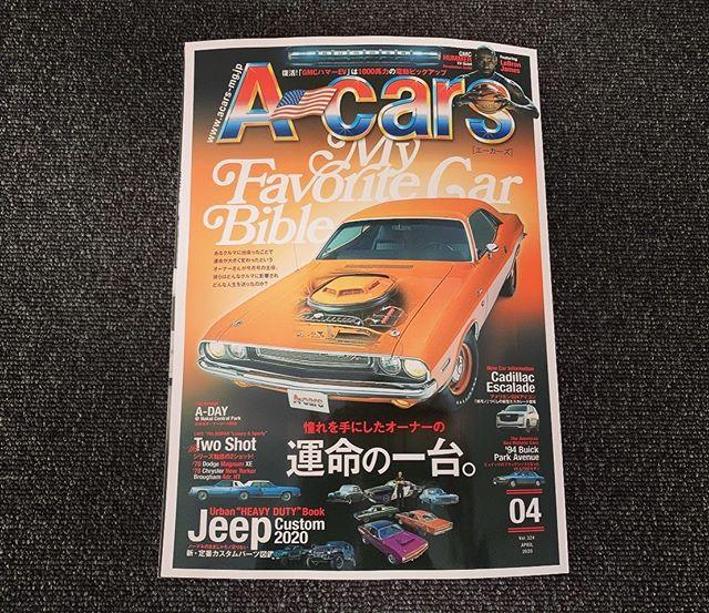 現在発売中のA-cats 4月号は...表紙こそチャレンジャーですが、中身は計40ページに及ぶ Jeep特集号 となってます(^^) JLが日本に正規投入されてから約1年半 様々なメーカーから様々なスタイルが提案され益々盛り上がりを見せるJLカスタムシーン。今号のエーカースではそのJLカスタムの最新情報を掲載しています✩.*˚ Jeepカスタムを語る上で外せない京都トップランカーさん、埼玉タイガーオートさん、東京Jeppsenさんなどなど 沢山のメーカーさんが紹介されているので是非お近くの書店で 買ってくださ~い(ᯅ̈ )/ #Jeep #ラングラー #jl #elford #ジープ #wrangler #4wd #unlimited #アンリミテッド #sahara #サハラ #rubicon #launchedition #トップランカー #タイガーオート #jeppsen #エルフォード #ルビコン #fca