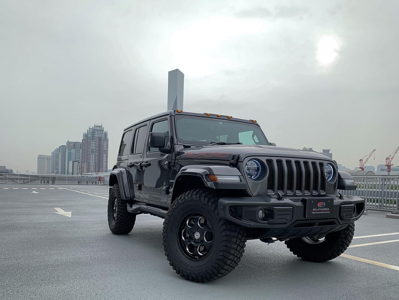 写真撮りまくり。。・・#Jeep #ラングラー #jl #elford #ジープ #wrangler #4wd #unlimited #アンリミテッド #sahara #サハラ #rubicon #launchedition #エルフォード #ルビコン #赤いレインボーブリッジ